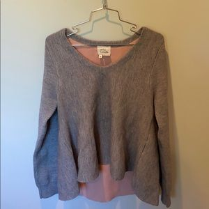 Anthropologie Flair Sweater